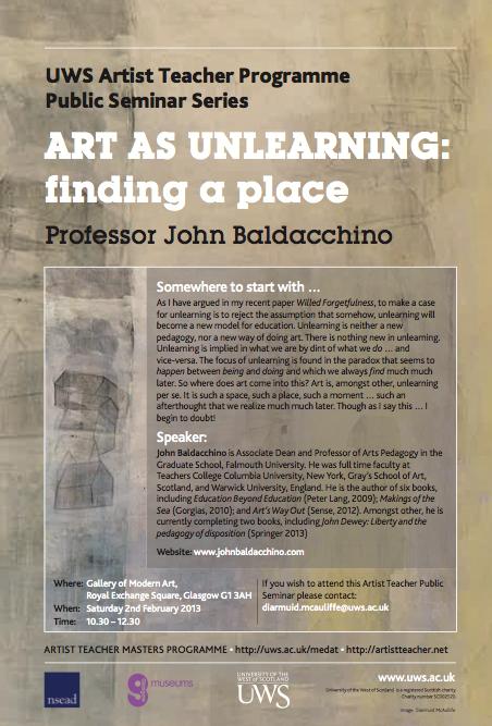Critical Pedagogy I & II Seminar: Key Note confirmed